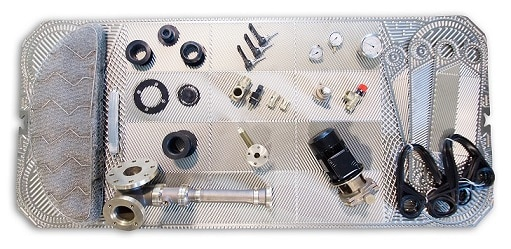 Fresh water generator components