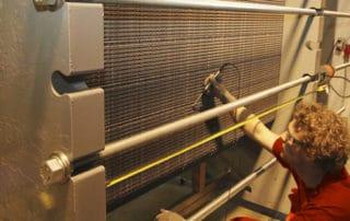 Heat exchanger testing