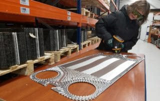 Vicarb Heat Exchangers Plates